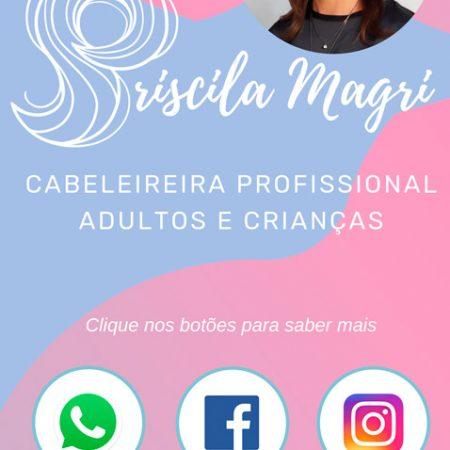 Cartão virtual Estúdio Priscila Magri